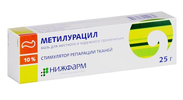 метилурациловая мазь от стрептодермии