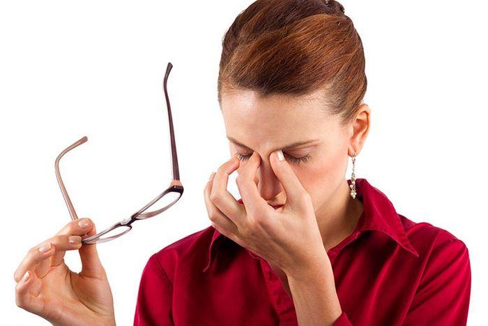 Спазм и усталость глаз