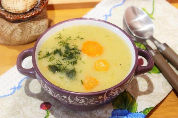 картофельный суп - блюдо, разрешенное диетой при почечной недостаточности