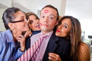 Виды и значение различных поцелуев