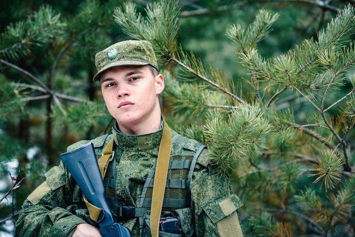 Призывник в армию