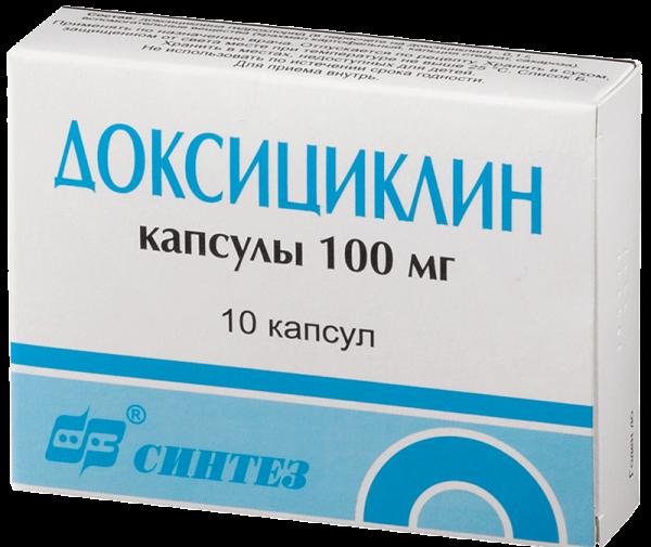 доксициклин - препарат от пиелонефрита
