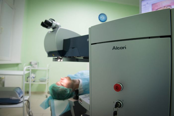 Глаукома лазерная трабекулопластика