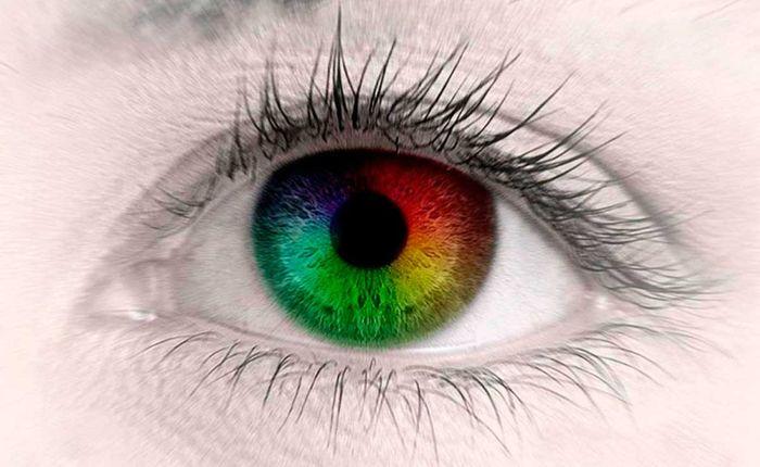 Цветная склера глаза