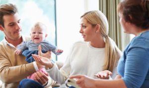 Разлад после рождения ребенка: что делать молодоженам?