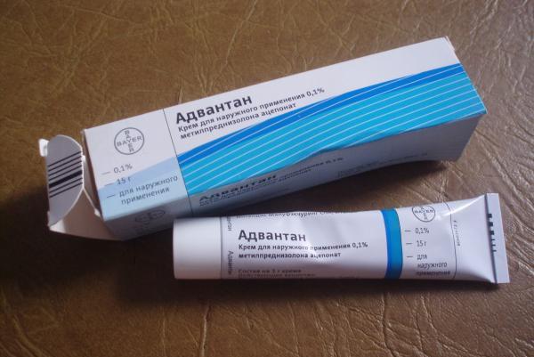 мазь адвантан от аллергии на лице