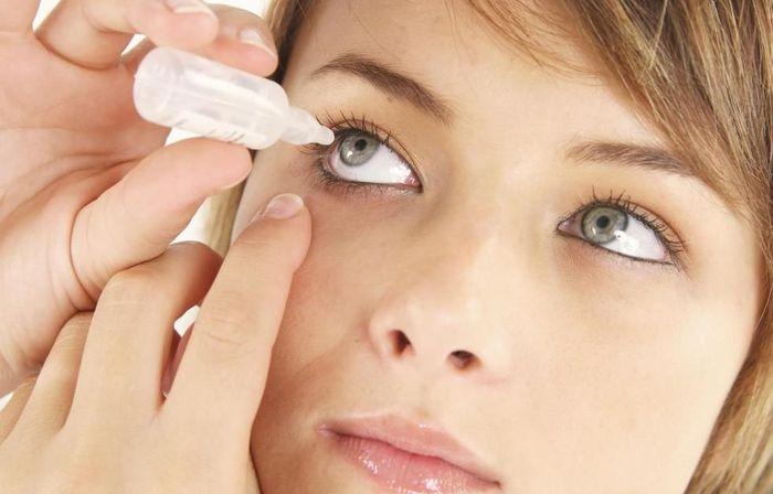 Капли для глаз с витаминами