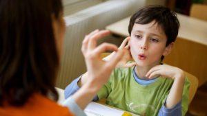 Диагностика нарушения речи