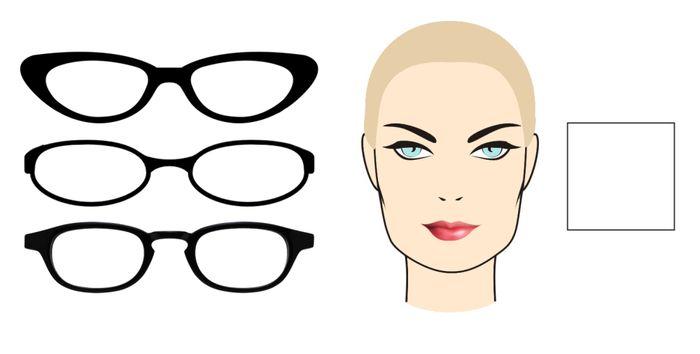 Очки разных форм