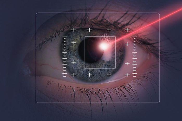 Лазерная операция на глаза