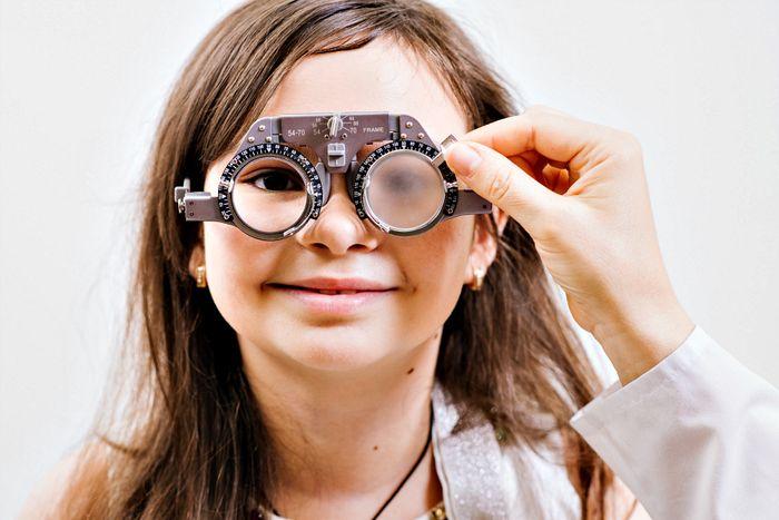 Подбор очков для детей