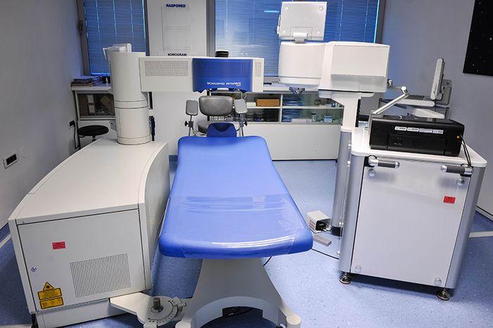 Аппаратура для проведения лазерной коррекции