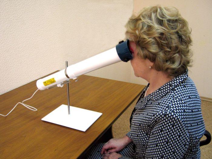 Физиотерапия для глаз