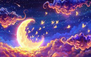 Яркие видения ночью