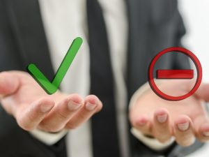 Пример принятия решения с помощью техники