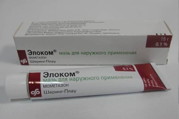 мазь от аллергии на лице элоком