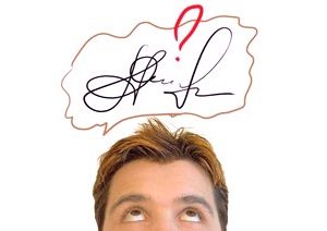 Характеристика личной подписи