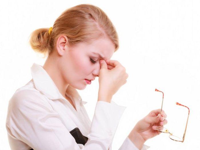 Синдром хронической усталости глаз