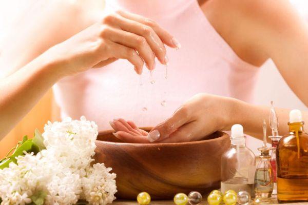 лечебные ванночки для устранения волдырей на руках