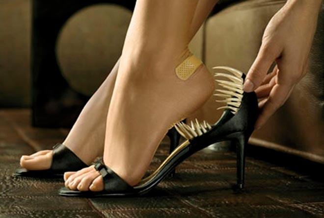 Как убрать натоптыши на ступнях