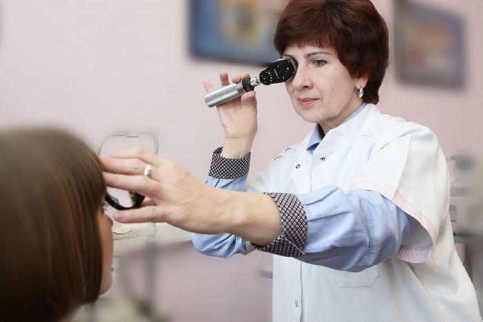 Визит к офтальмологу